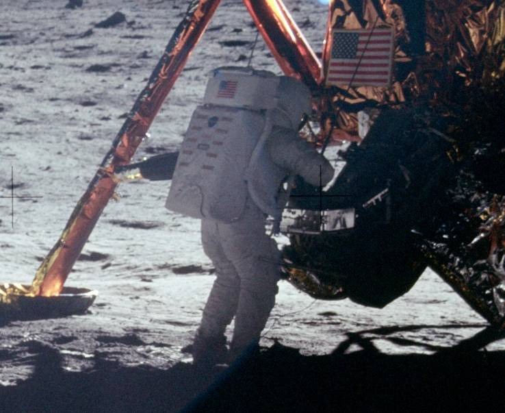 Ніл Армстронг на Луні