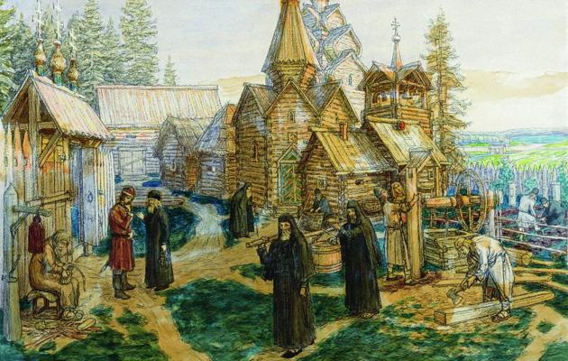 В 1337 году Сергием Радонежским «положено основание Свято-Троицкой лавры
