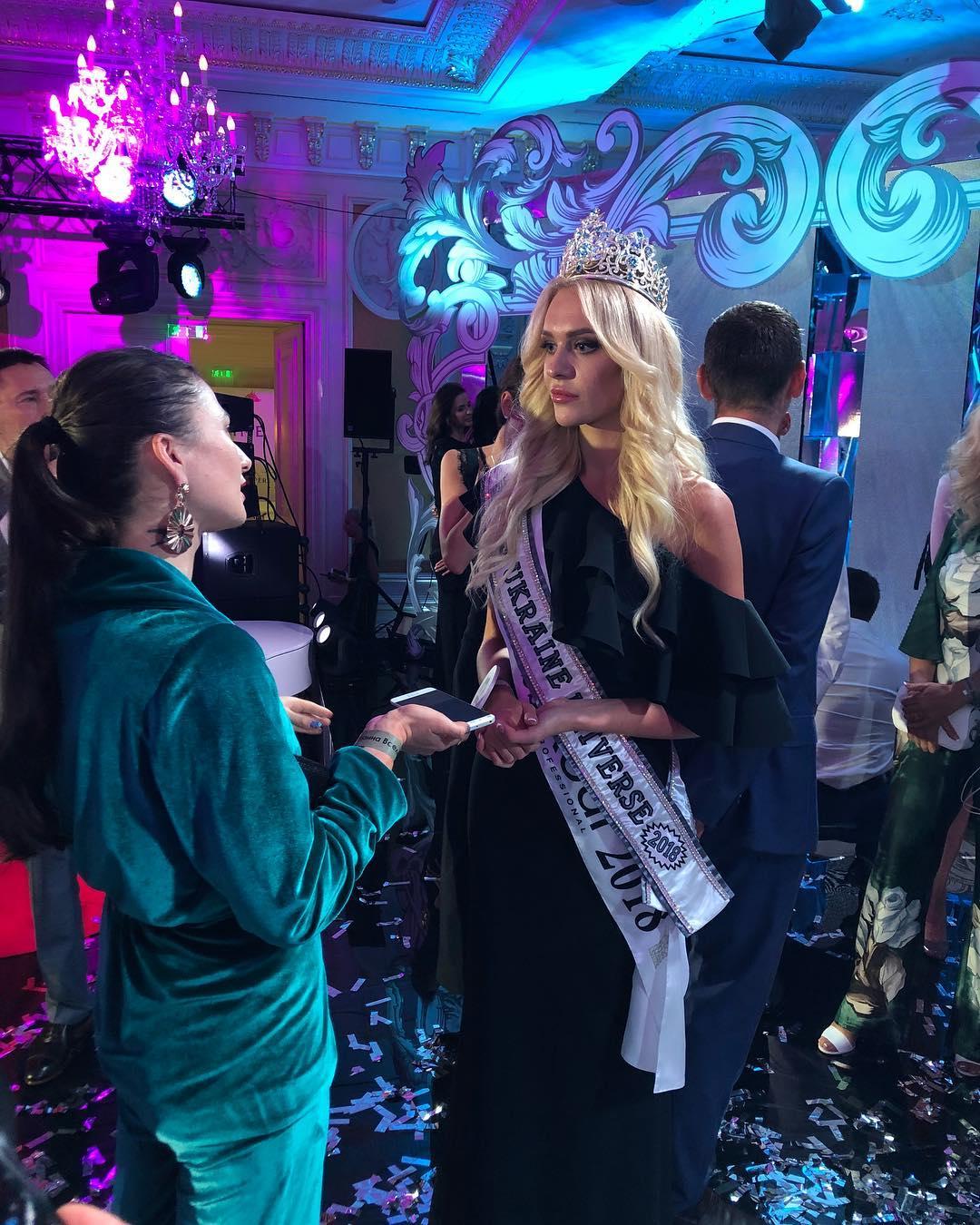 Miss Ukraine - Universe 2018: Schönheitswettbewerb gewinnt Karina
