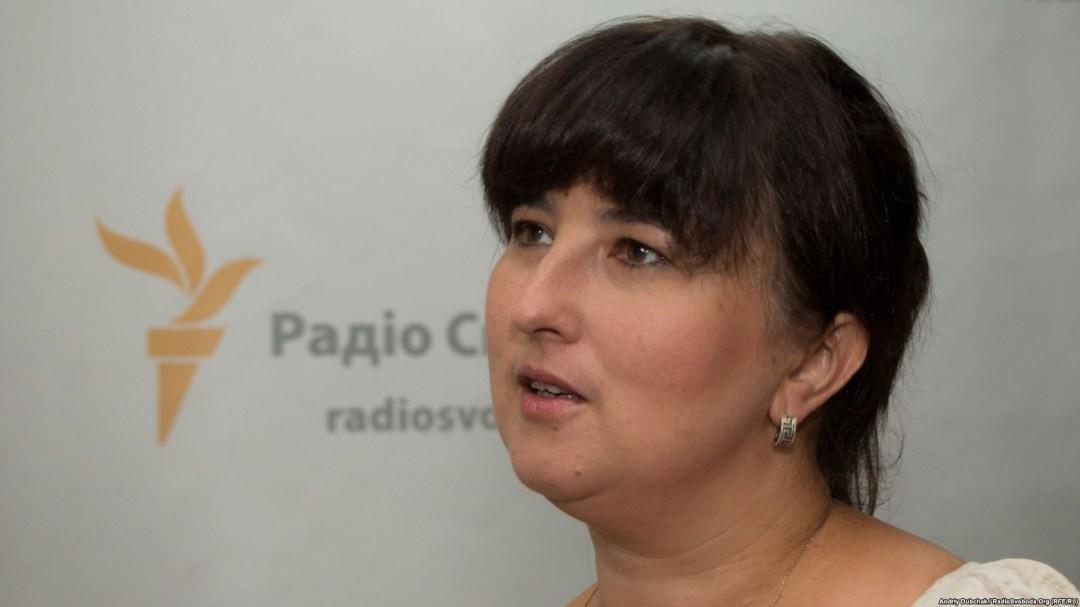 Оксана Сухорукова // Фото: Радіо Свобода