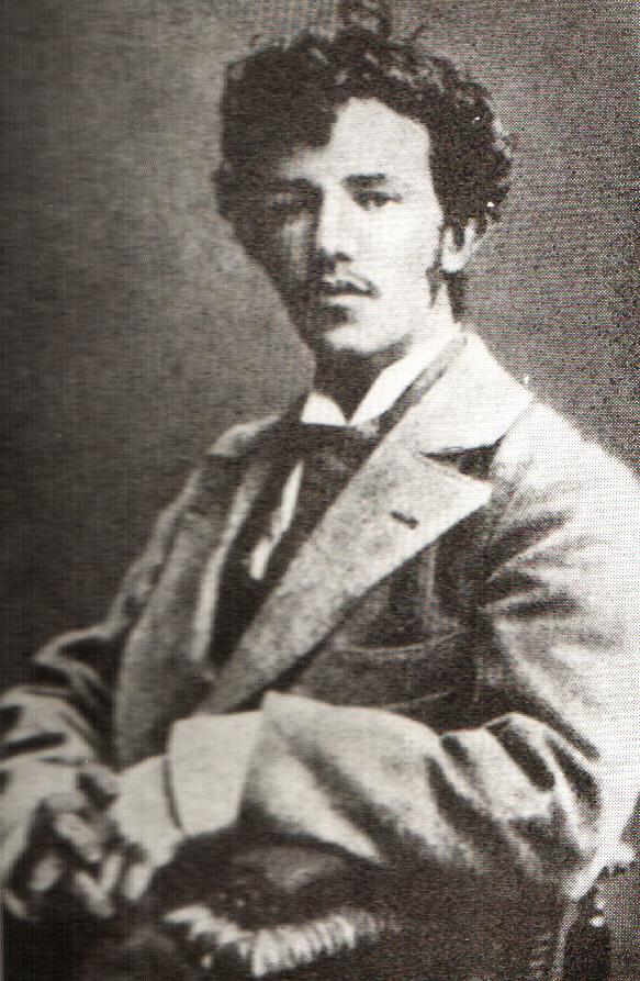 Олександр Мурашко, фотопортрет, 1895 р