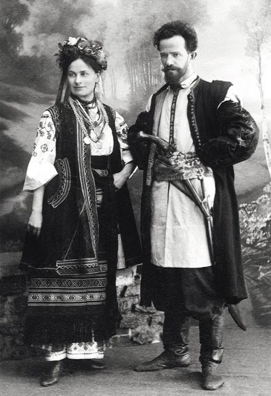 Маргарита та Олександр Мурашки