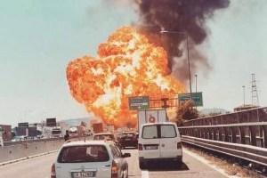 В Италии на воздух взлетела фабрика фейерверков: четыре человека погибли