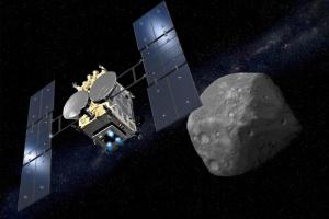 Японський зонд сів на астероїд Рюгу
