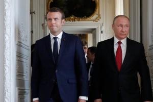 """Heute besprechen Macron und Putin Gespräche im """"Normandie-Format"""""""