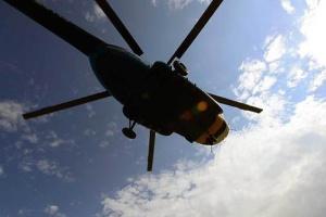 У Росії розбився військовий вертоліт, є загиблі