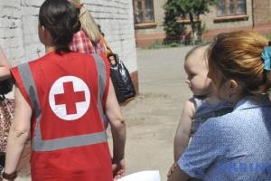 La Croix-Rouge a envoyé 90 tonnes d'aide humanitaire au Donbass