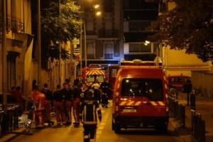 В Париже возле Лионского вокзала произошел большой пожар
