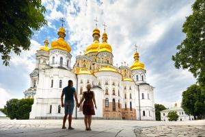 Кстати, в туризме Украина не отстает