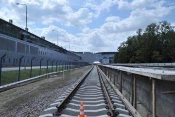 乌总理格罗伊斯曼视察基辅-鲍里斯波尔机场快线建设情况