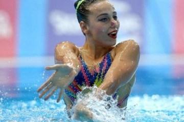 Natación Sincronizada: La ucraniana Yakhno gana plata del Campeonato Europeo de Glasgow