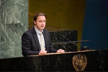 乌克兰在联合国呼吁,就俄罗斯的侵略加大对其制裁