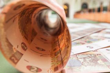 Hausse du taux de change officiel de la hryvnia à 26,32 UAH pour un euro