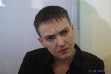 Nadia Savtchenko a l'intention de se présenter aux élections législatives