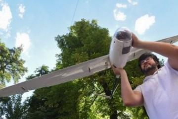 乌克兰开始使用太阳能无人机