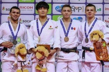 Ukrainian judoists win 16 medals at Budapest Grand Prix and Junior European Judo Cup