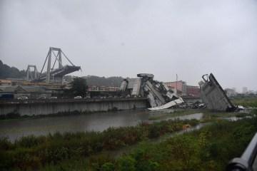 MAE: Dos ucranianos han sido ingresados en un hospital tras el derrumbe del puente en Génova