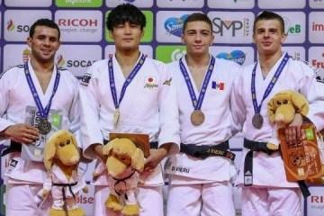 乌克兰柔道运动员在大奖赛和青年欧洲杯上获得16枚奖牌