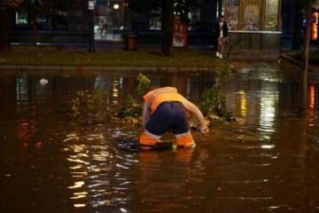 Una fuerte tormenta nocturna inunda el centro de Kyiv (Foto)