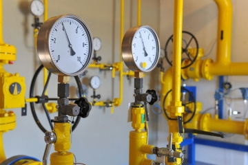 Ukraine boosts gas transit by 6 percent