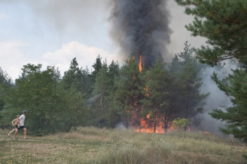 Extreme fire hazard remains in Ukraine within a week