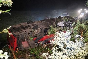 Tres ucranianos muertos, muchos heridos en un accidente de autobús en Polonia
