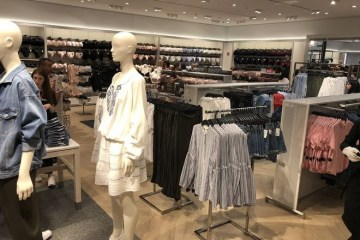 Sweden's H&M opens first store in Kyiv today