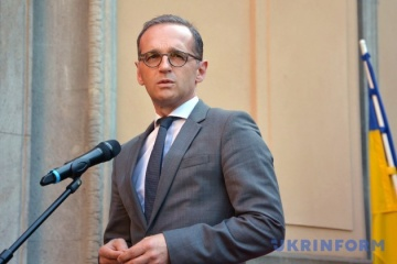 Maas: Deutschland verfolgt Situation an ukrainisch-russischer Grenze