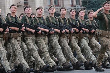 波罗申科:乌克兰武装部队中有5.5万名女性