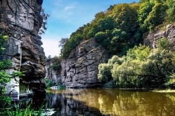 波罗申科:布克峡谷是乌克兰的明珠