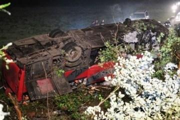Accidente mortal con ucranianos: Arrestan al conductor de autobús por tres meses en Polonia
