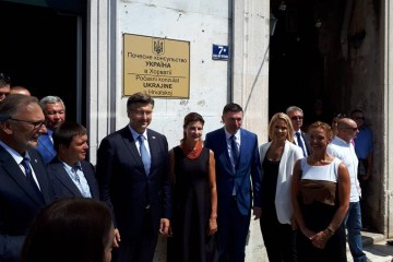 Ukraine's honorary consulate opens in Croatia