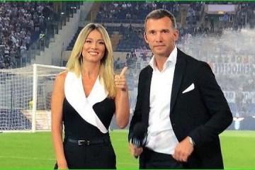 安德烈•舍甫琴科首次以足球专家身份在意大利电视中亮相