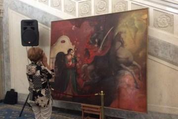拉达将展出两幅新画作《代祷》和《马泽帕》