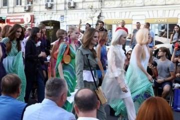 La marque de vêtements SEREBROVA a présenté une nouvelle collection à l'occasion de la Journée de l'indépendance de l'Ukraine
