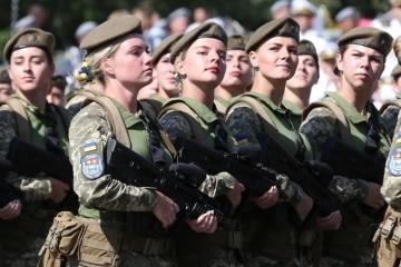 In der Ukraine mehr als 12.000 Frauen-Veteranen der Kampfhandlungen im Donbass