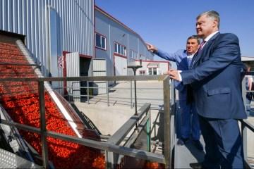 Porochenko: L'Ukraine affiche un taux de croissance fantastique dans le secteur agricole (photos)