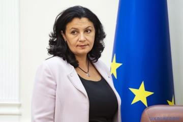 Klympush-Tsintsadze: La Integración europea le da a Ucrania la oportunidad de convertirse en miembro pleno del mercado de la UE