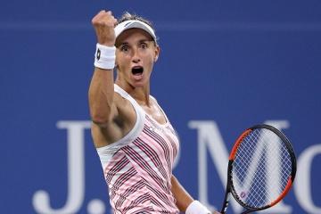 Ukraine's Lesia Tsurenko climbs to 23rd spot in WTA ranking
