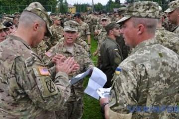 Arrancan ejercicios  militares Rapid Trident 2018 en Ucrania