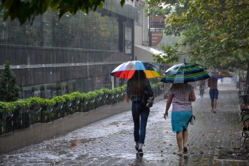 Weather forecasters warn Kyiv citizens of thunderstorms