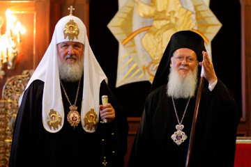 Ecumenical Patriarch Bartholomew informs Patriarch Kirill of Moscow about introduction of autocephaly in Ukraine