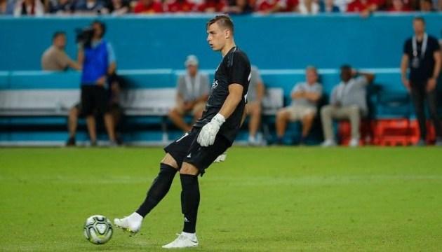 Лунін дебютував у складі «Реала»