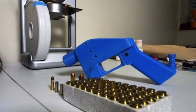 У США заборонили поширення інструкцій для створення зброї на 3D-принтері