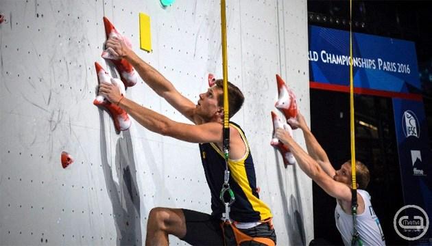 Украинец Болдырев выиграл этап Кубка мира по скалолазанию в Италии