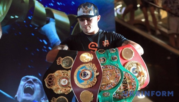 Олександр Усик: Мій успіх у боксі - це перемога всієї України