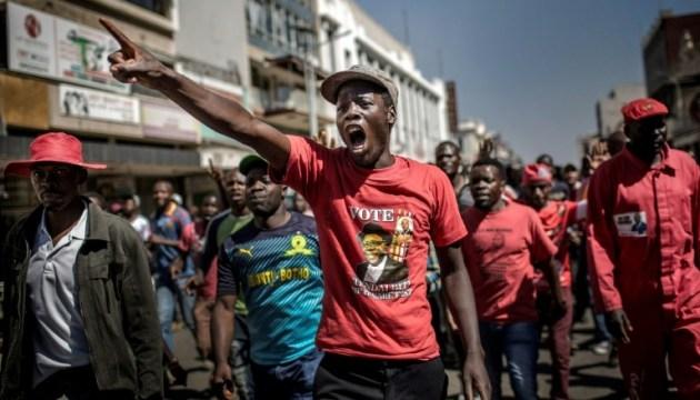 У Зімбабве армія відкрила вогонь по незгодних з результатами виборів
