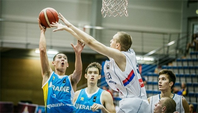 Збірна України U-18 програла в 1/8 фіналу чемпіонату Європи з баскетболу