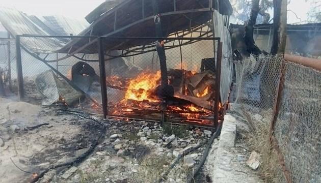 У курортному Коблево сталася пожежа, постраждала жінка
