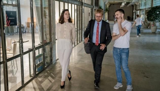 Посол Швеції ознайомився з новими ідеями інноваційного центру Івано-Франківська